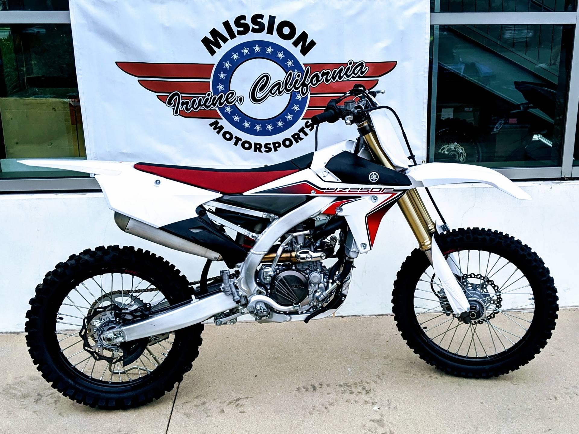 2015 Yamaha YZ250F for sale 134633