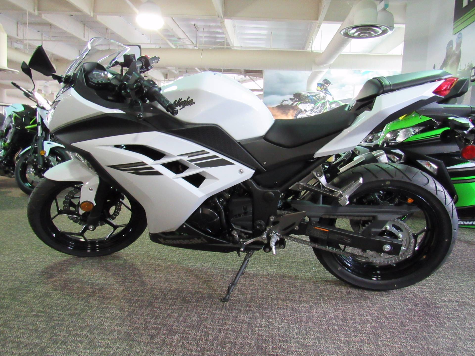 2017 Kawasaki Ninja 300 ABS in Irvine, California