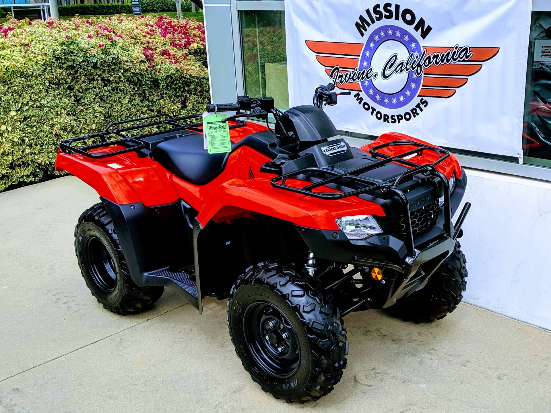 2019 Honda FourTrax Rancher in Irvine, California - Photo 2