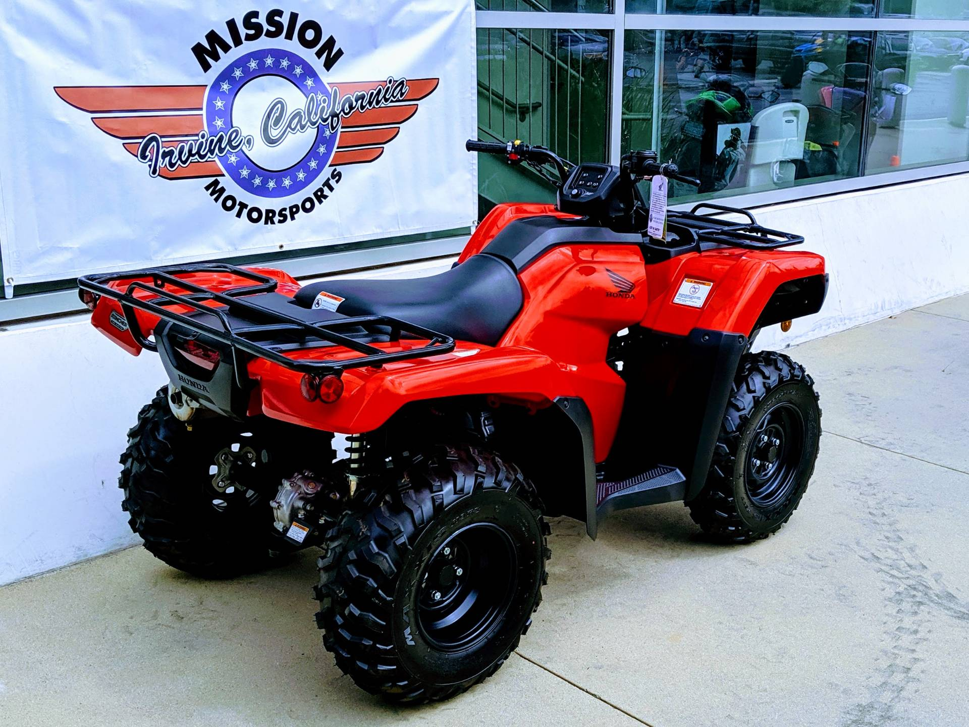 2019 Honda FourTrax Rancher in Irvine, California - Photo 3