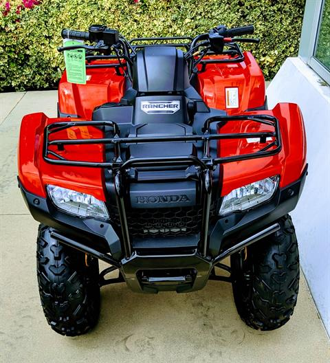2019 Honda FourTrax Rancher in Irvine, California - Photo 5