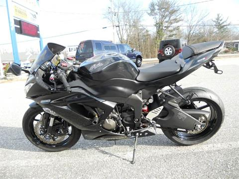 2013 Kawasaki Ninja® ZX™-6R in Derry, New Hampshire