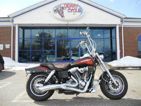2009 Harley-Davidson CVO™ Dyna® Fat Bob® in Derry, New Hampshire