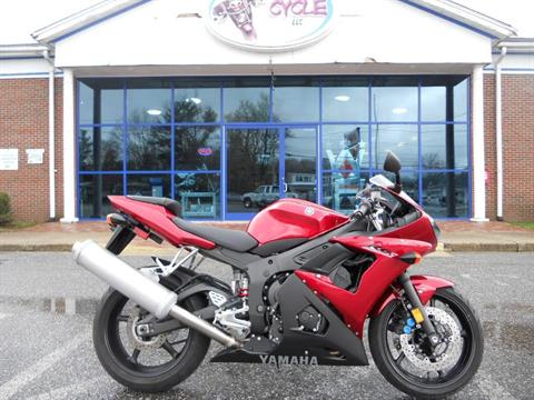 2007 Yamaha YZF-R6S in Derry, New Hampshire