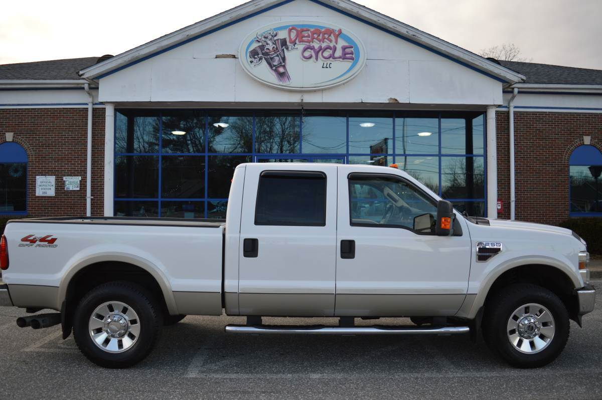 2008 ford f 250 xlt crew cab 4wd diesel in derry new hampshire