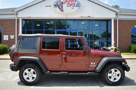 2009 Jeep Wrangler Unlimited X Sport in Derry, New Hampshire