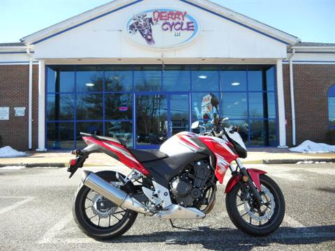 2015 Honda CB500F in Derry, New Hampshire