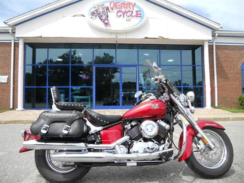 2009 Yamaha V Star 650 Silverado in Derry, New Hampshire