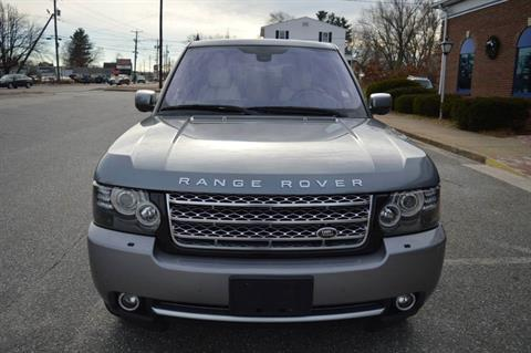2012 LAND ROVER RANGE ROVER SUPERCHARGED in Derry, New Hampshire - Photo 3