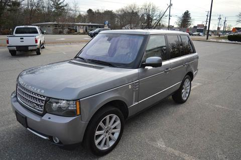 2012 LAND ROVER RANGE ROVER SUPERCHARGED in Derry, New Hampshire - Photo 4