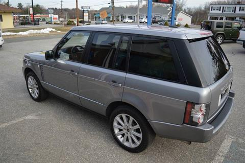 2012 LAND ROVER RANGE ROVER SUPERCHARGED in Derry, New Hampshire - Photo 6