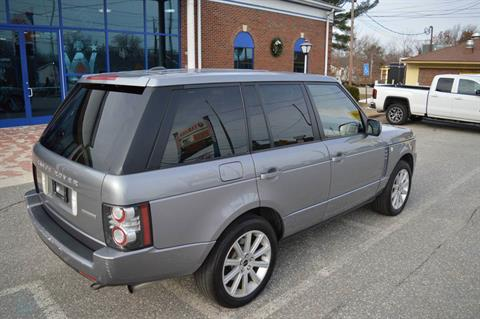 2012 LAND ROVER RANGE ROVER SUPERCHARGED in Derry, New Hampshire - Photo 7