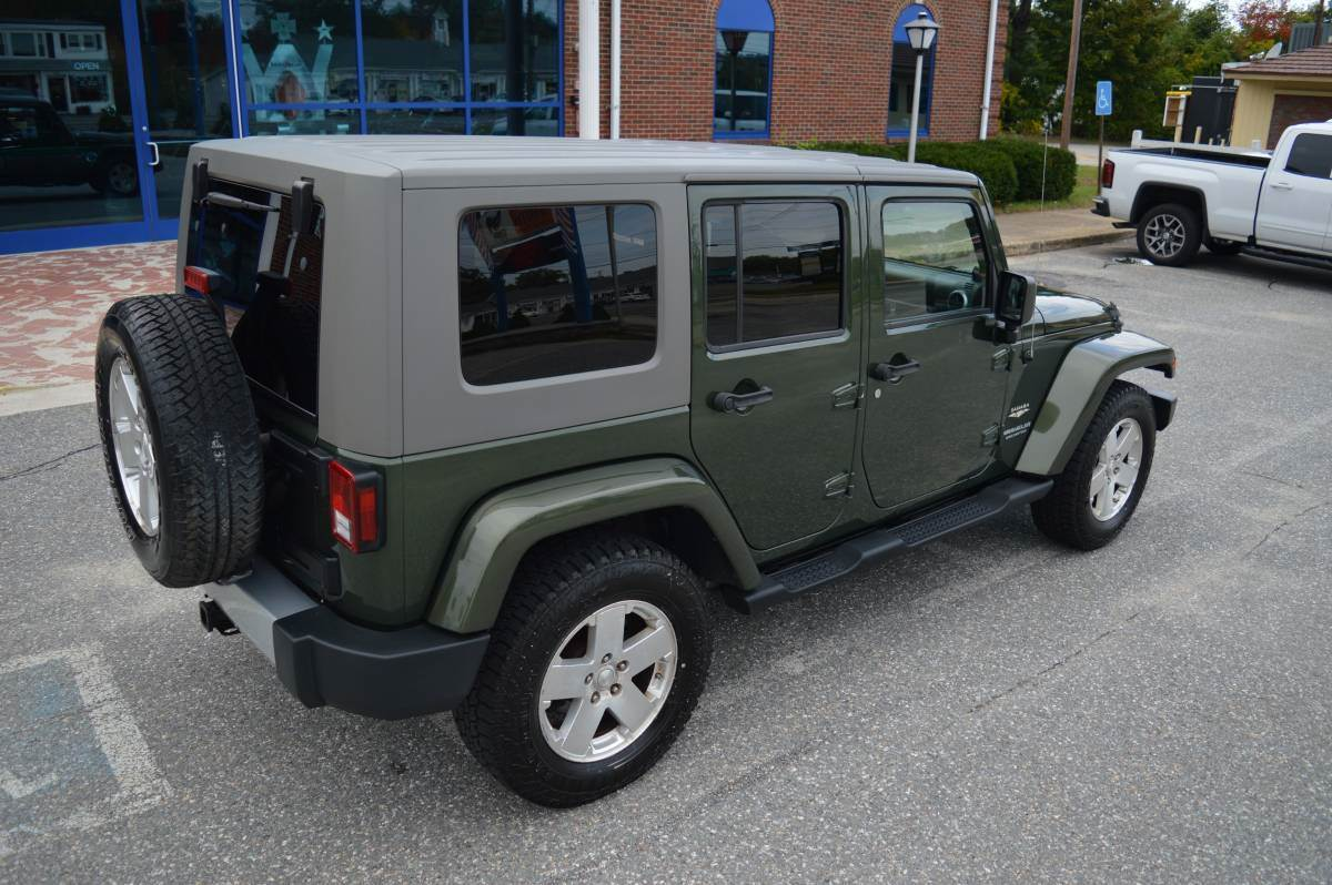Used 2008 Jeep Wrangler Unlimited Sahara Automobile In Derry Nh Fuel Filter New Hampshire