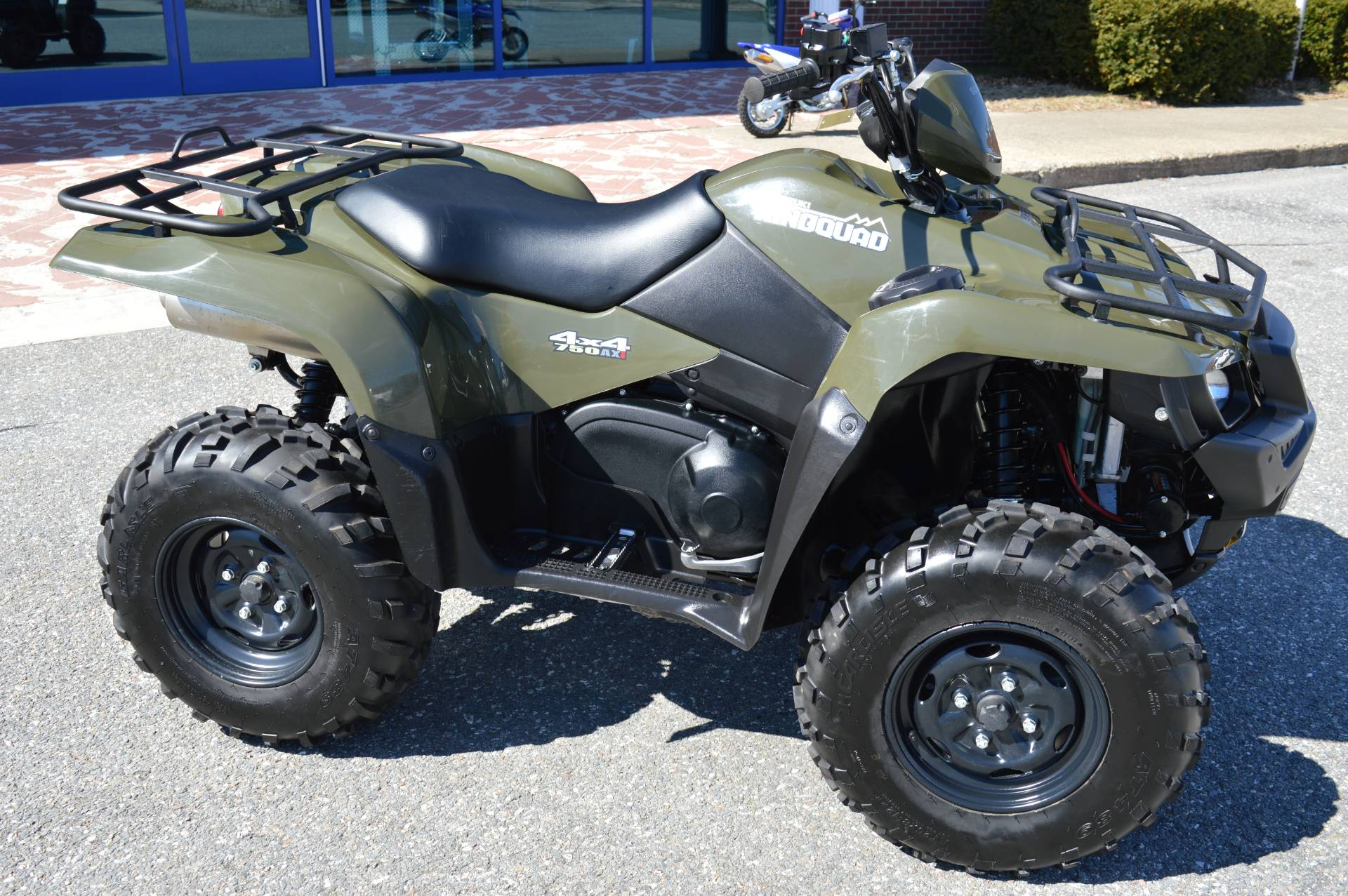 2016 Suzuki KingQuad 750AXi Power Steering in Derry, New Hampshire - Photo 1