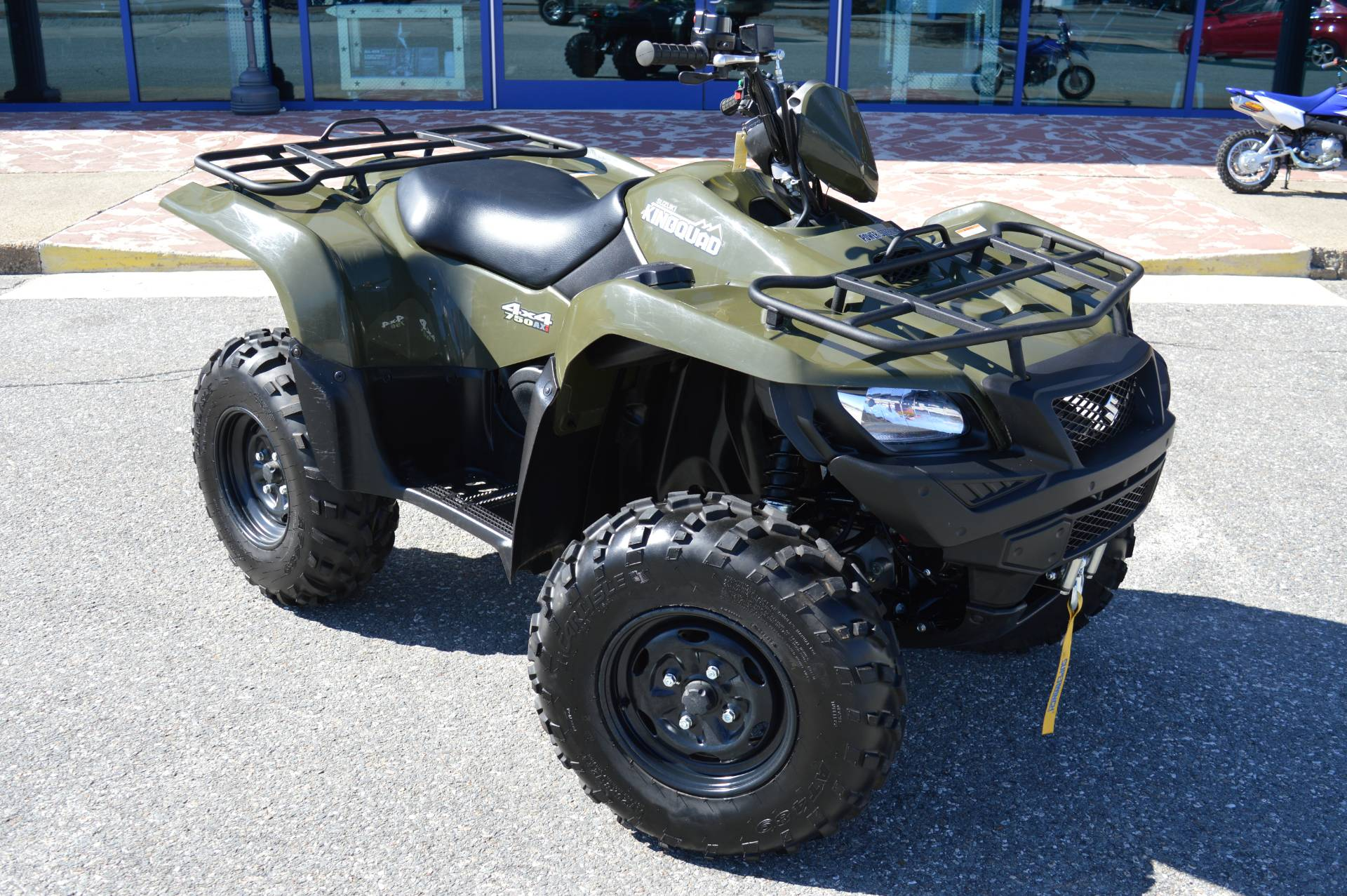 2016 Suzuki KingQuad 750AXi Power Steering in Derry, New Hampshire - Photo 2