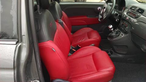 2013 Fiat 500 Lounge 5 spd manual in Harmony, Pennsylvania - Photo 5