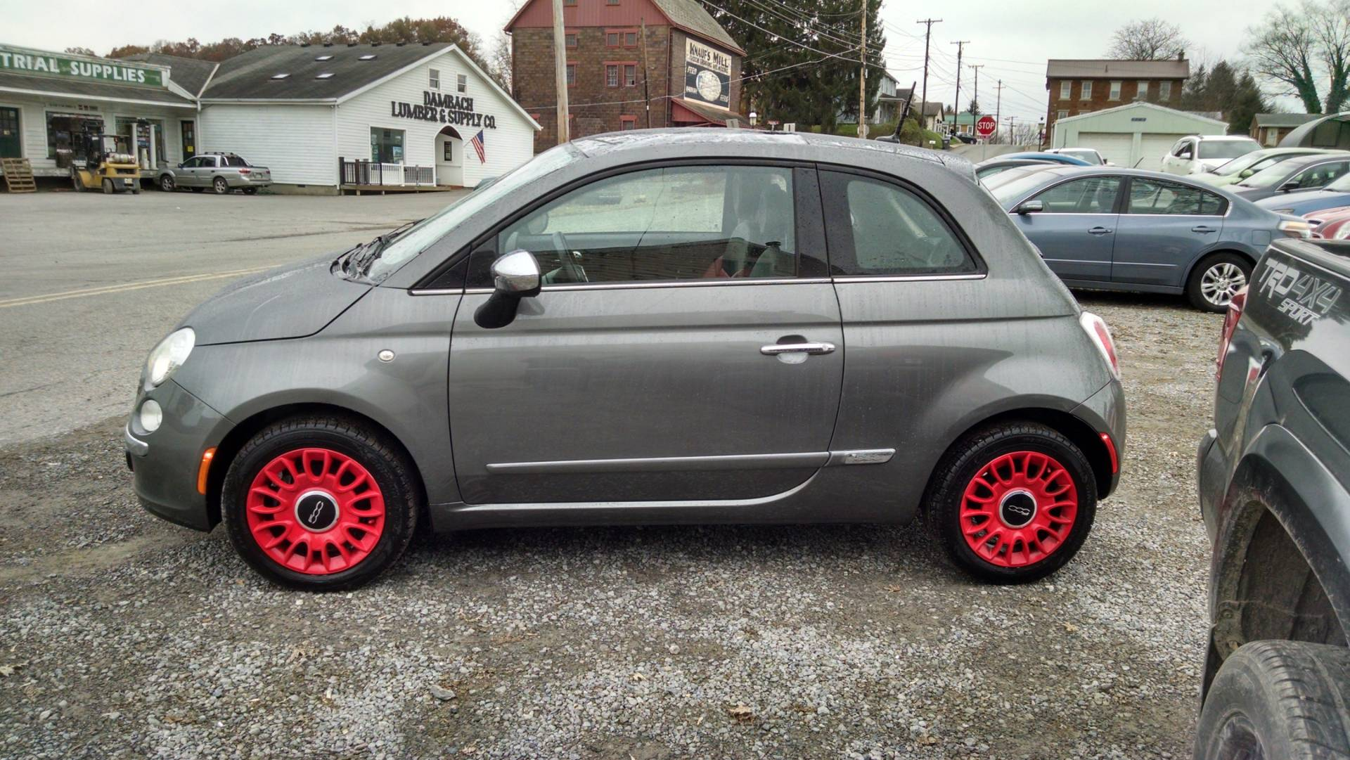 2013 Fiat 500 Lounge 5 spd manual in Harmony, Pennsylvania - Photo 6