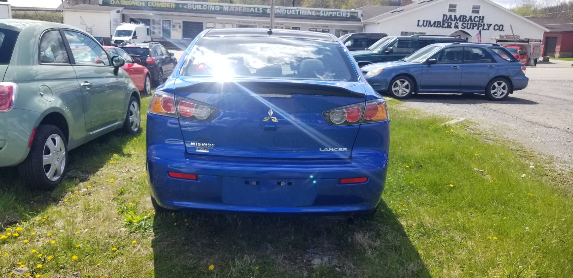 2017 Mitsubishi Lancer ES in Harmony, Pennsylvania - Photo 6