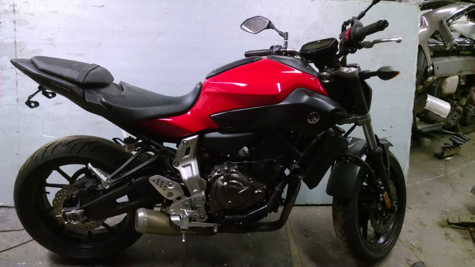 2015 Yamaha FZ-07 in Harmony, Pennsylvania