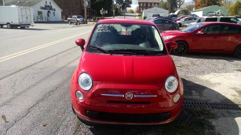 2012 Fiat 500 pop in Harmony, Pennsylvania
