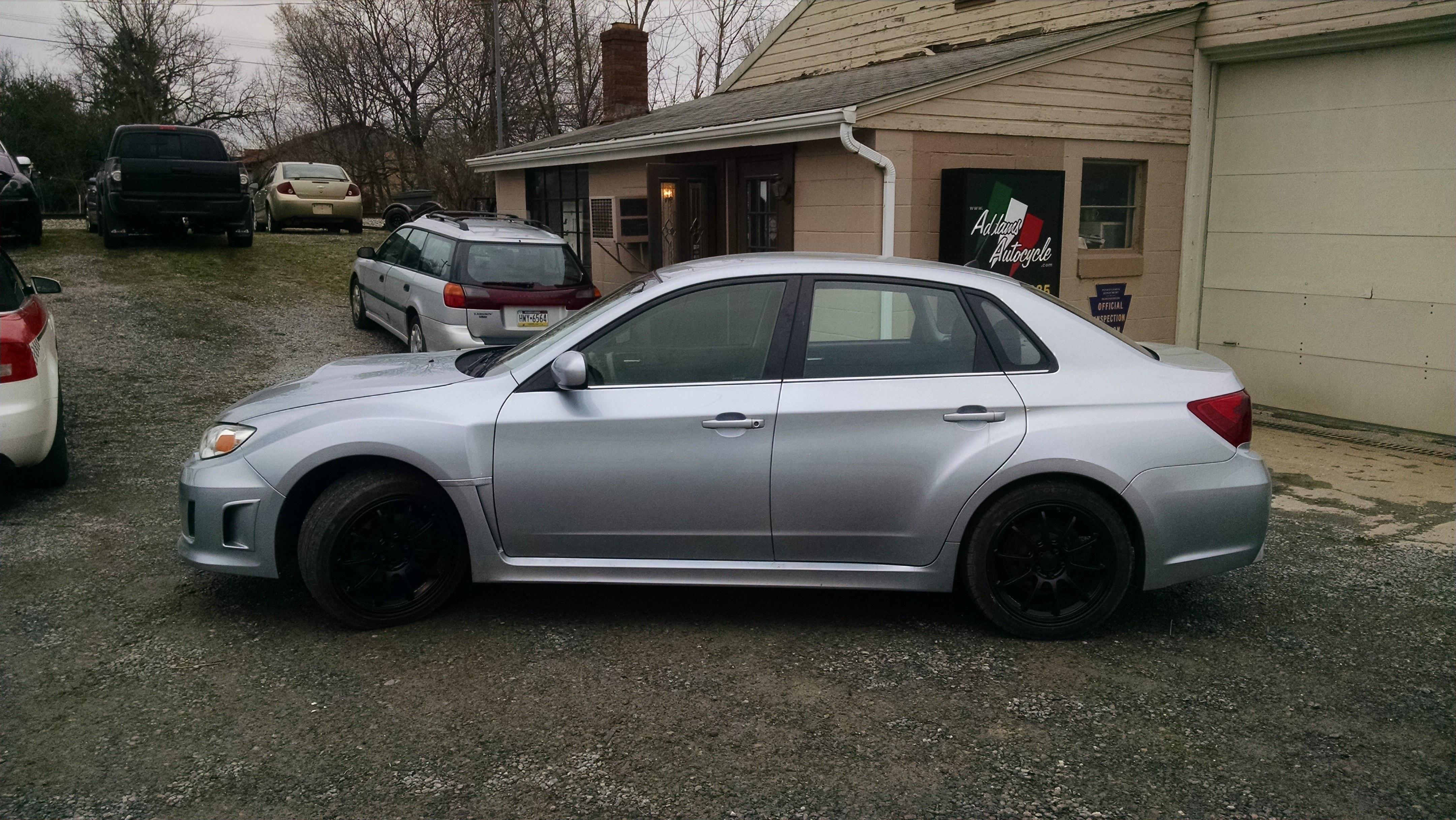 2012 subaru wrx impreza automobile harmony pennsylvania n/a