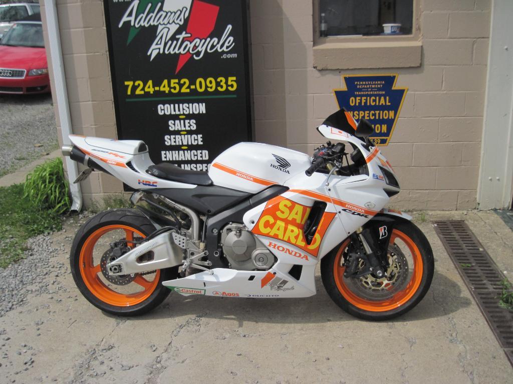 2006 Honda CBR®600RR (CBR600RR) Motorcycles Harmony Pennsylvania N/A