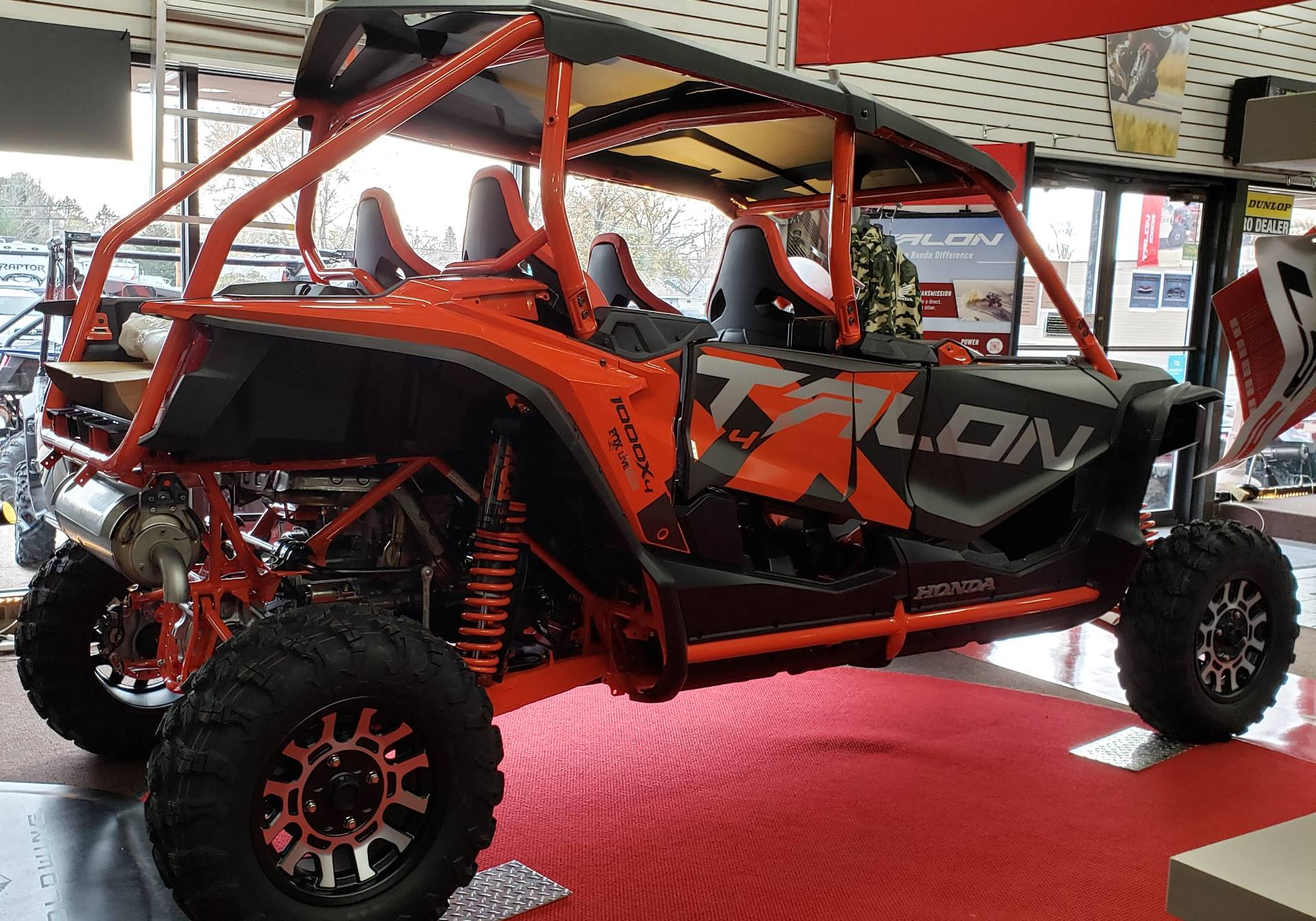 2020 Honda Talon 1000X-4 FOX Live Valve in Rice Lake, Wisconsin - Photo 1