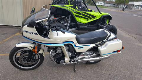 1982 Honda CBX1000 in Rice Lake, Wisconsin