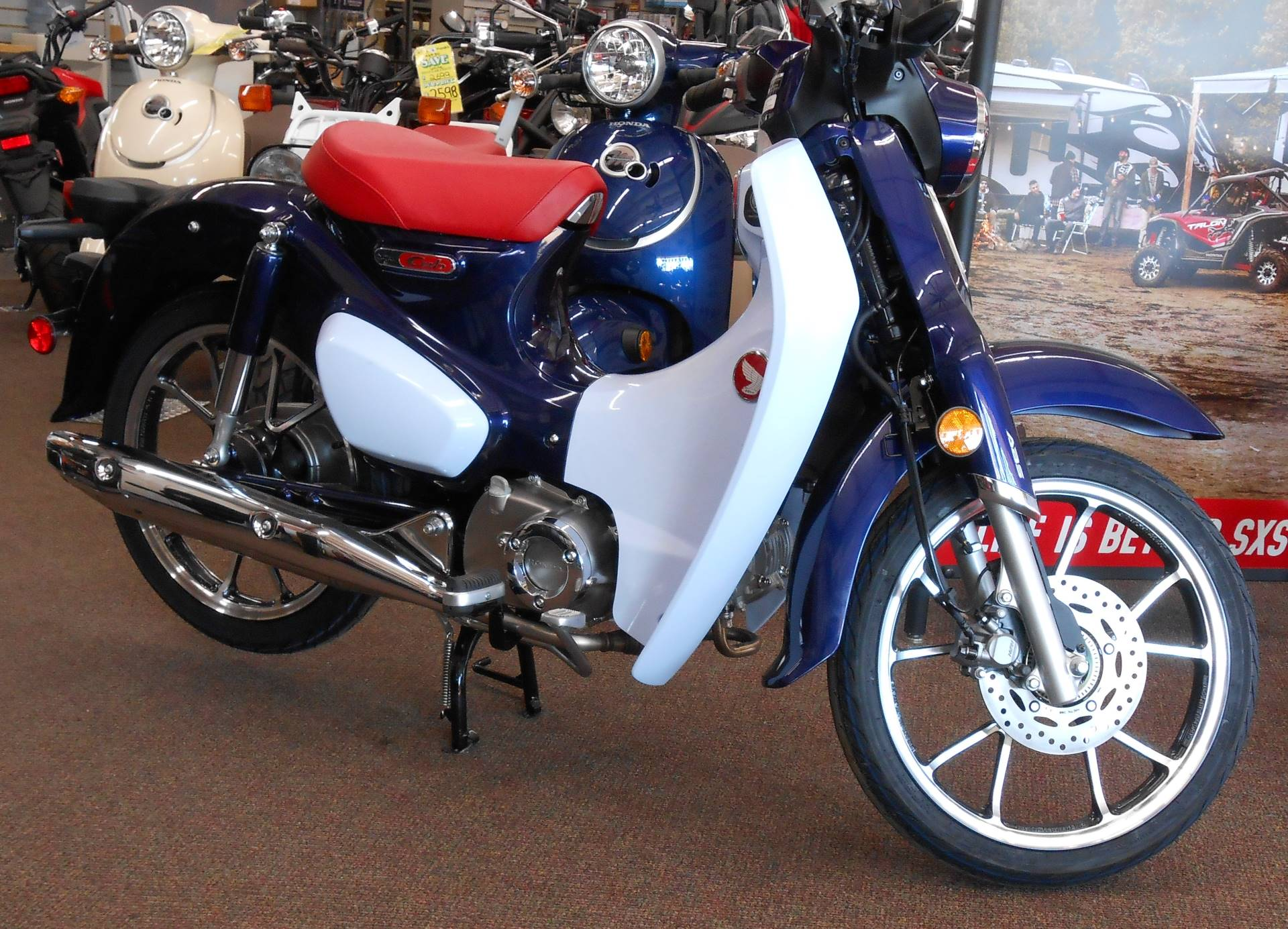 2019 Honda Super Cub C125 ABS in Rice Lake, Wisconsin - Photo 1