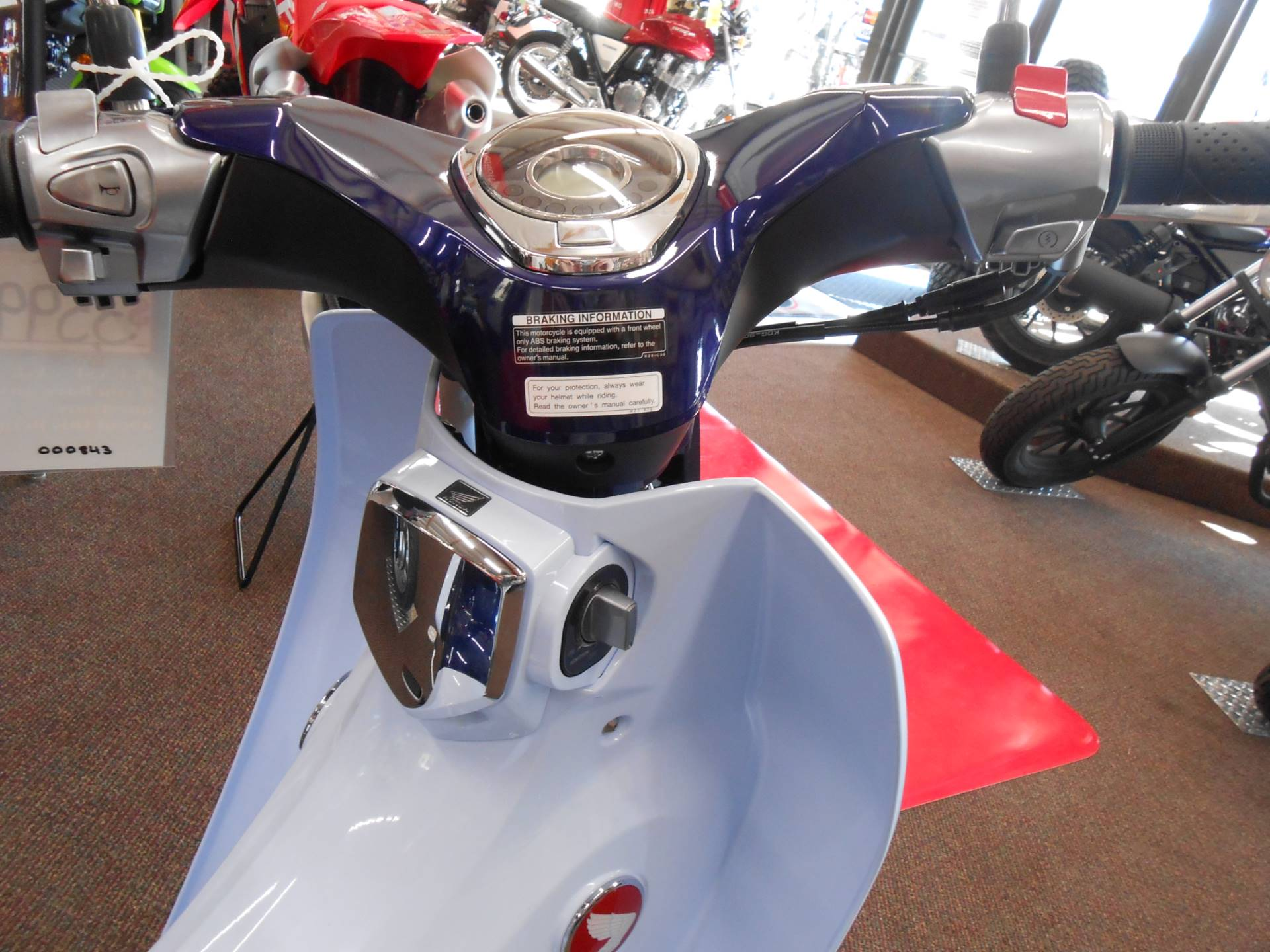 2019 Honda Super Cub C125 ABS in Rice Lake, Wisconsin - Photo 3