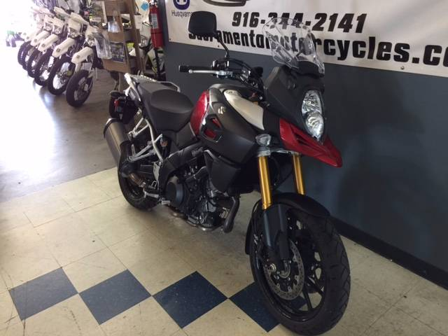 2014 Suzuki V-Strom 1000 ABS in Sacramento, California