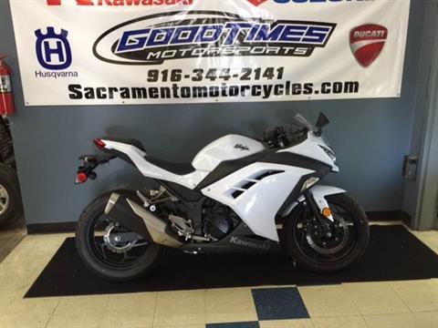 2013 Kawasaki Ninja® 300 in Sacramento, California