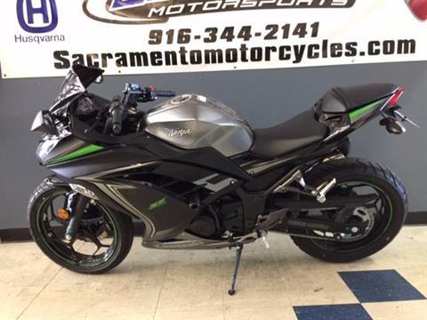 2015 Kawasaki Ninja® 300 SE in Sacramento, California