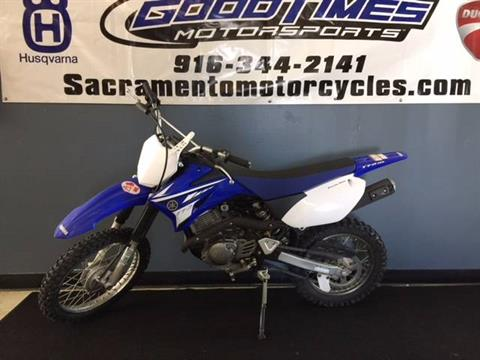 2008 Yamaha TT-R125E in Sacramento, California
