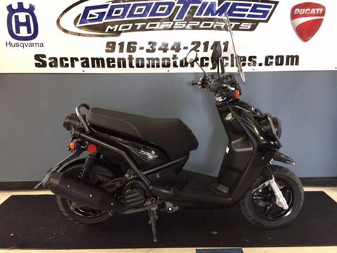 2011 Yamaha Zuma 125 in Sacramento, California