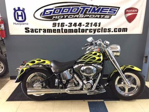 2002 Harley-Davidson FLSTF/FLSTFI Fat Boy® in Sacramento, California
