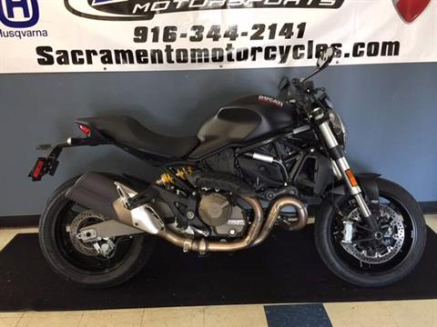 2016 Ducati Monster 821 Dark in Sacramento, California