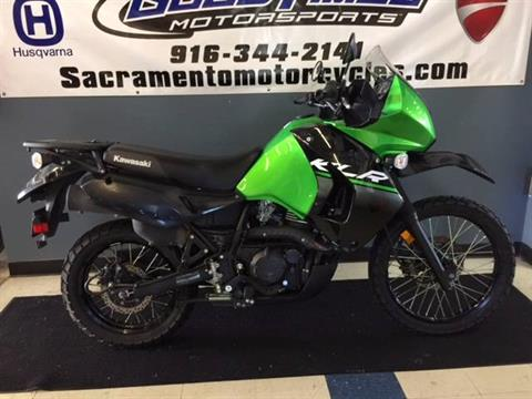 2015 Kawasaki KLR™650 in Sacramento, California