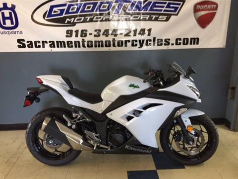 2015 Kawasaki Ninja® 300 ABS in Sacramento, California