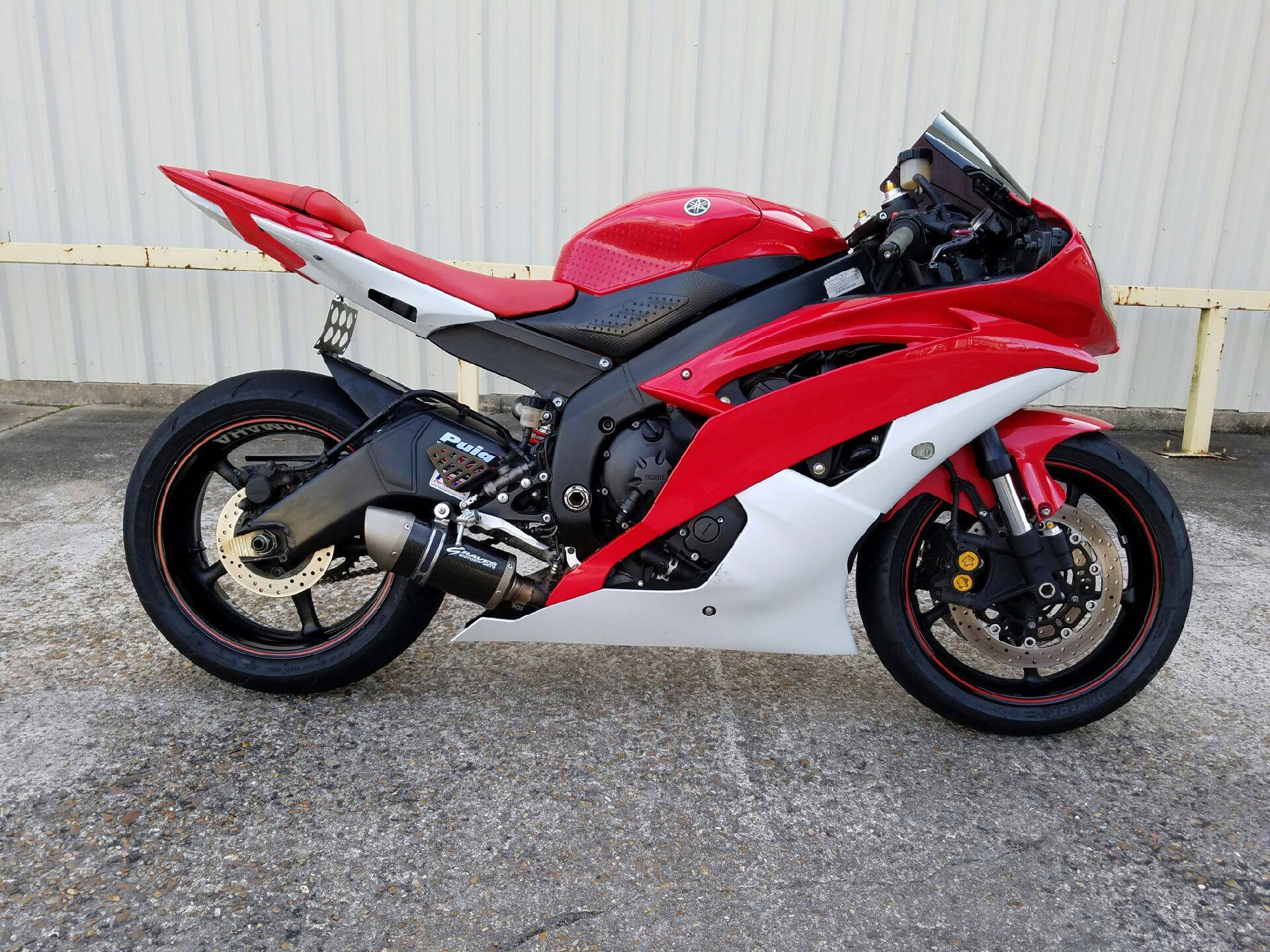 2013 Yamaha YZF-R6 in Pasadena, Texas