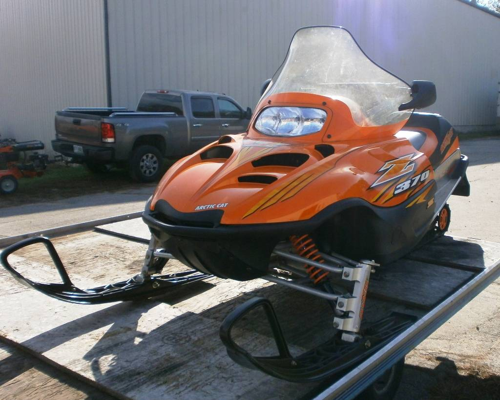 2007 Arctic Cat Z 370 LX in Barrington, New Hampshire - Photo 1