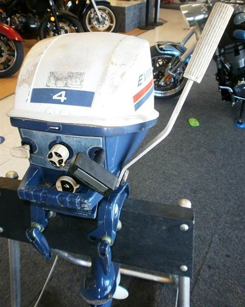 1969 Evinrude 4 HP 2-Stroke Outboard Motor in Barrington, New Hampshire