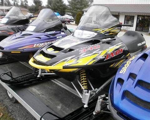2004 Polaris Indy 340 in Barrington, New Hampshire