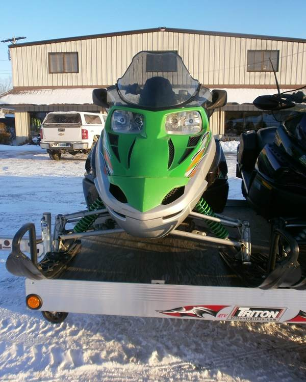 2007 Arctic Cat F8 LXR in Barrington, New Hampshire
