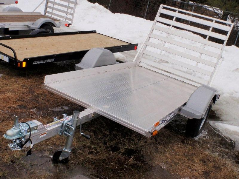 2011 Triton Trailers AUT 8-53 UTILITY TRAILER w/RAMP & DECK in Barrington, New Hampshire