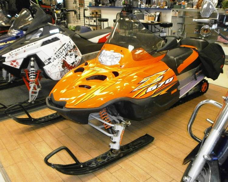 2007 Arctic Cat Z 570 LX in Barrington, New Hampshire - Photo 1