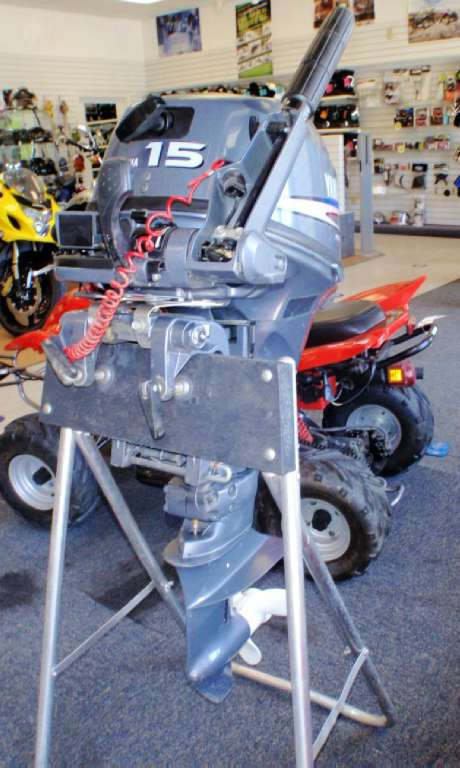 2007 Yamaha F15C 4-Stroke Portable in Barrington, New Hampshire