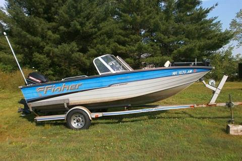 1996 Fisher SV16 FS in Barrington, New Hampshire