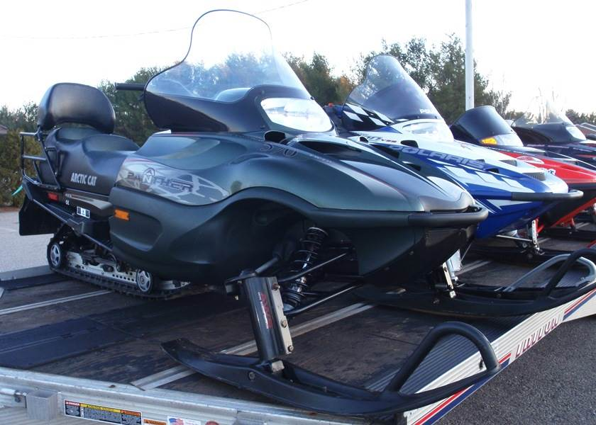 2001 Arctic Cat Panther® 370 in Barrington, New Hampshire