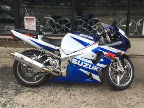 2002 Suzuki GSX-R750 in Northlake, Illinois